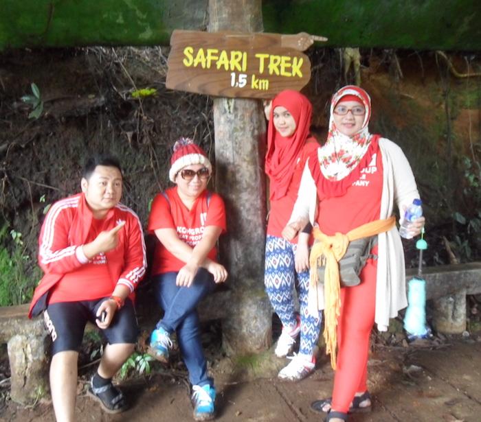 trekking taman safari 26