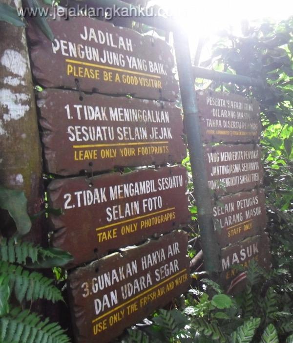 trekking taman safari puncak 1-1