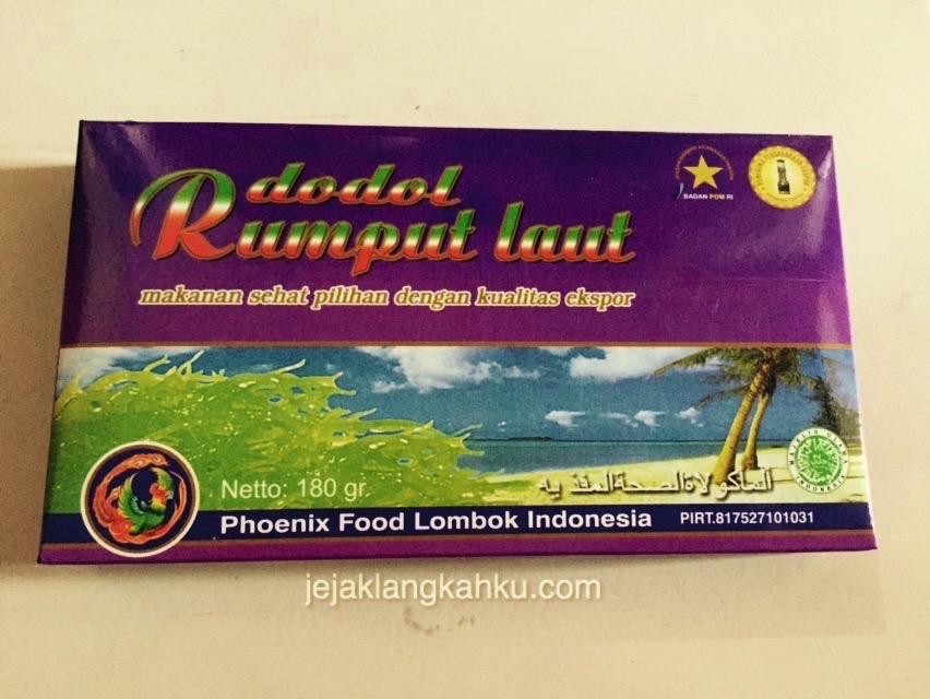 dodol rumput laut lombok 2-1