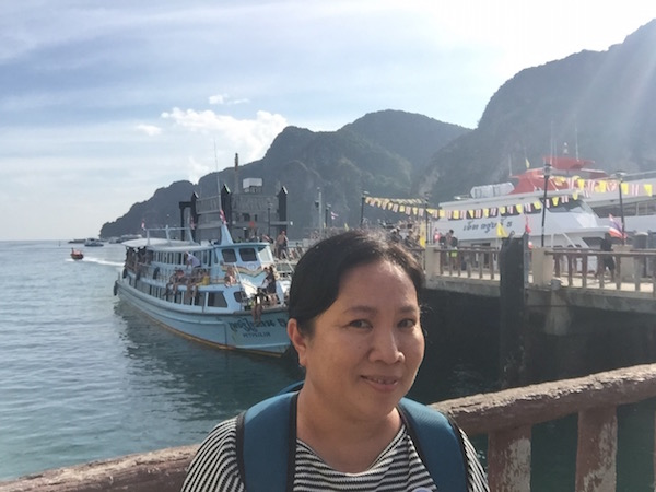 ferry to phi phi island 6