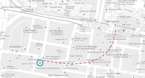 hard-rock-cafe-bangkok-map