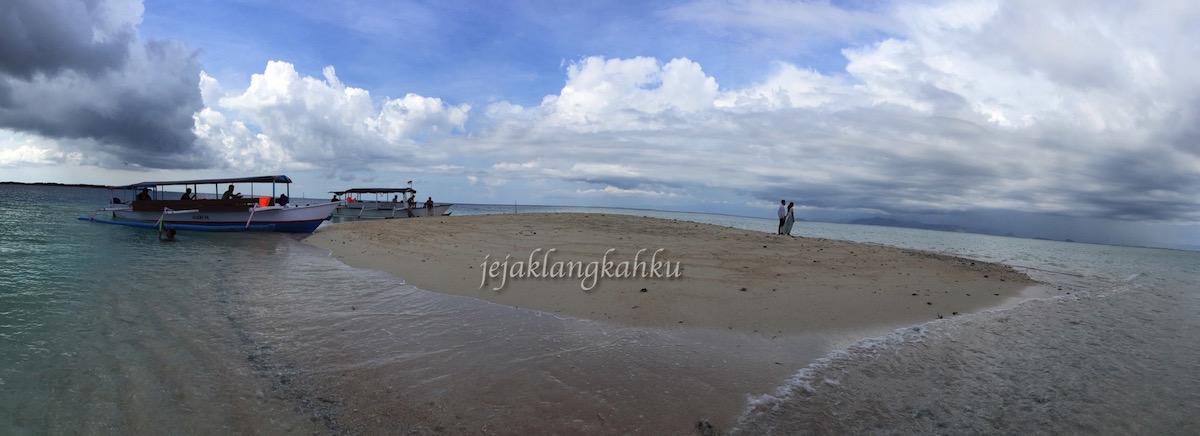 Kandas, Terdampar di Gili Kapal Lombok Timur