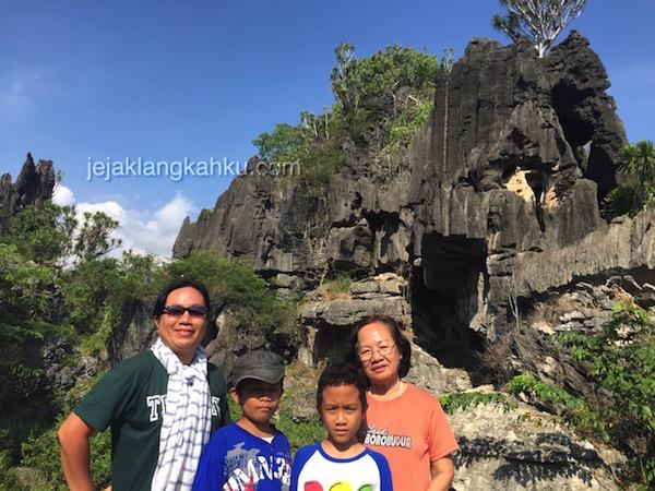 Ketemu Batu, Batu & Batu Lagi di Taman Batu Rammang-Rammang, Maros Makassar (part 3)