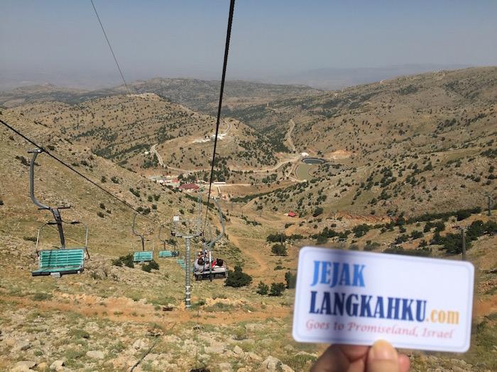 "Menyimak Makna ""Pembawa Damai"" di puncak Gunung Hermon Israel"