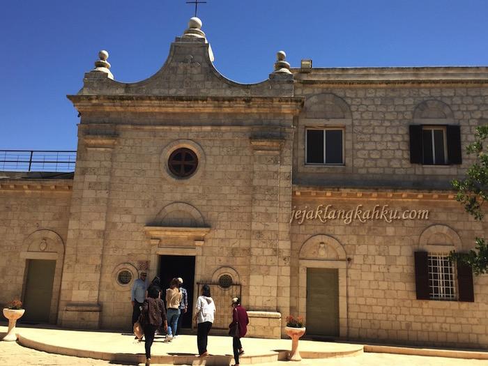 Muhraqa, Saksi Sejarah Nabi Elia di Gunung Karmel Israel