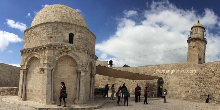 Mengenang Kenaikan Tuhan Yesus di Chapel of Ascension Yerusalem, Israel