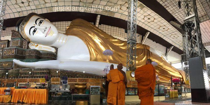 Cerita dibalik keindahan Patung Budha Berbaring di Bago, Myanmar
